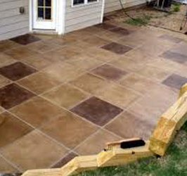 Cement Patio Tile