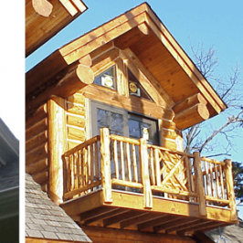 Dormer balcony additions to on your house