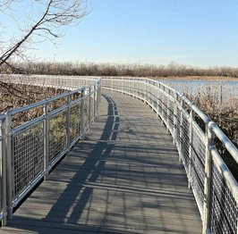 Aluminum handrail systems and accessories