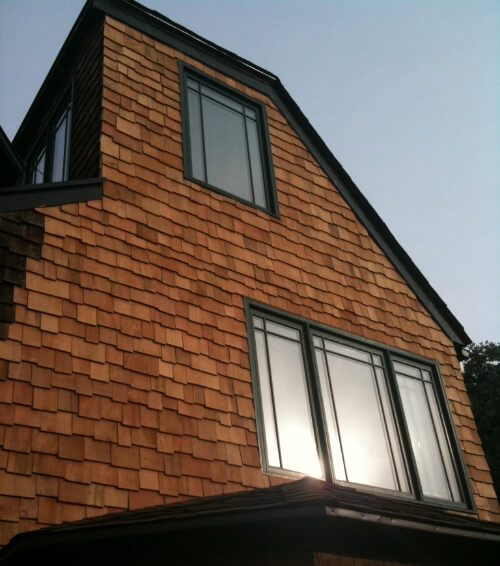 Decorative cedar wood shingle sidding for oakland and san for Architectural wood siding
