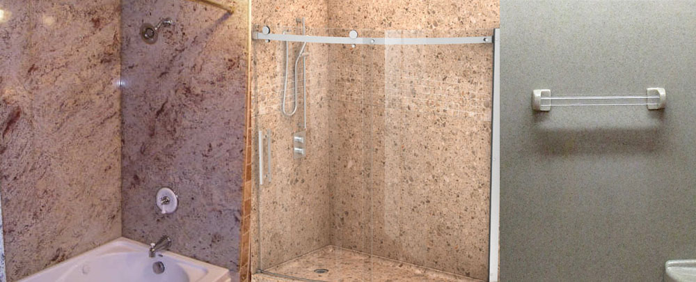 Stone Wall Shower Panels For Oakland And San Francisco