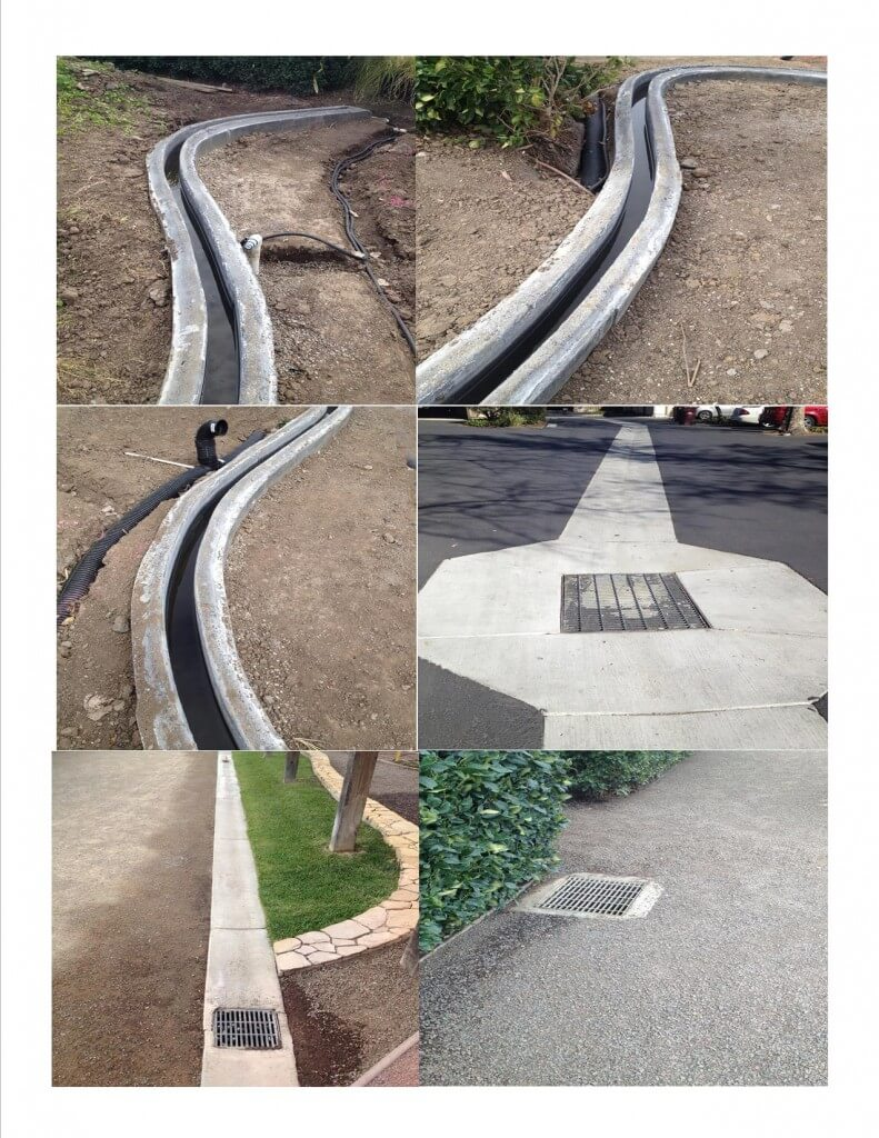Drainage Culvert Catch Basins V Shape Concrete Gutters