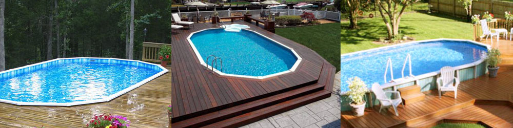 Above ground pools for oakland and san francisco for In ground swimming pool contractors