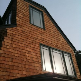 Decorative, Cedar Wood Shingle Sidding