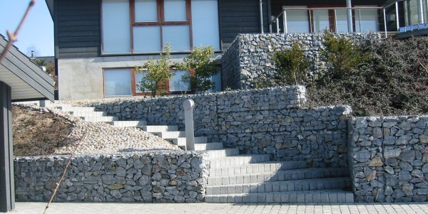 Using Gabion Rock In Building Applications For Oakland And