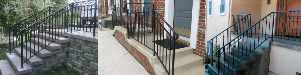 Iron Railings For Outdoor Stairs Montclair Construction