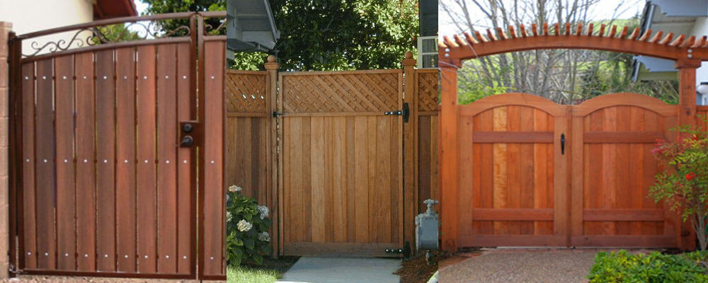 Redwood Fence Gates For Oakland And San Francisco
