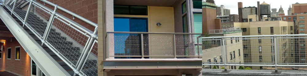 Wire Mesh Railing Systems for Oakland and San Francisco